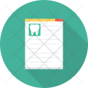 Dentist Medical Report Icon