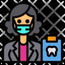 Dentist Jobs Occupation Icon