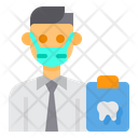 Dentist Avatar Mask Icon