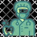 Dentist Surgeon Profession Icon