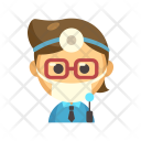 Dentist Avatar Profession Icon