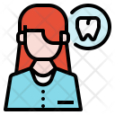 Dentist Women Female Icon