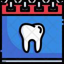 Dentist Appointment Dentist Calendar Icon