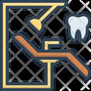 Dentist Chair Orthodontics Stomatologist Icon