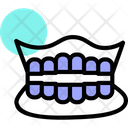 Denture Tooth Dentalcare Icon
