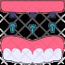 Screw Dentures Dental Icon