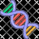 Dna Gene Deoxyribonucleic Acid Icon