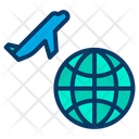 Airplane Airport Departures Icon