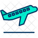 Airplane Departures Flying Icon