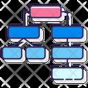 Dependencies Domino Impact Icon
