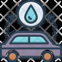 Depending Car Fuel Icon