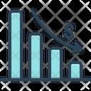Depleting Chart Analytics App Icon