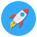 Rocket Missile Projectile Icon
