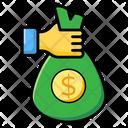 Money Sack Money Bag Wealth Icon