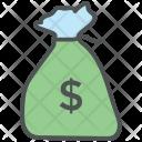 Deposit Money Sack Icon