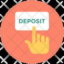 Deposit Banking Hand Icon