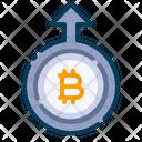 Deposit bitcoin Icon