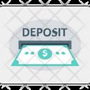 Deposit money Icon