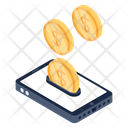 Mobile Deposit Online Deposit Deposit Money Icon