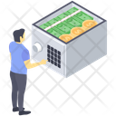 Deposit Opening Bank Vault Safe Opening Icon