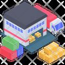 Warehouse Storeroom Storehouse Icon