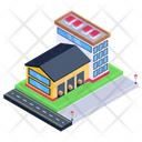 Depot Building Storehouse Warehouse Icon