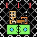 Depreciation Reduction Money Icon