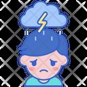 Depressed Icon