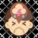 Depressed Sad Stress Icon