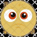 Depressed Emoji Emoticon Emotion Icon