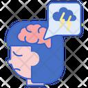 Depression Depressed Disorder Icon