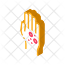 Dermatitis Rash Hands Icon