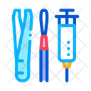 Dermatological Treatment Instrument Icon