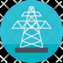 Derrick Electricity Energy Icon
