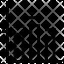 Descending Bars Graphic Icon