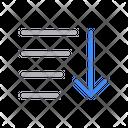 Down Arrow Scroll Icon