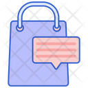 Description Shopping Description Shopping Bag Icon