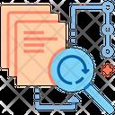 Descriptive Analytic Descriptive Analysis Sync Data Icon