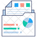 Descriptive statistics report Icon