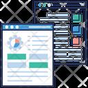 Descriptive Web Report Icon