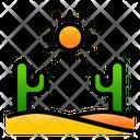 Desert Cactus Nature Icon