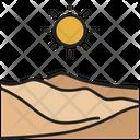 Desert Sand Sahara Icon