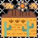 Desert Texas Landscape Icon