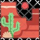 Landscape Canyon Travel Icon