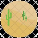 Desert Cactus Sand Icon