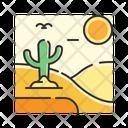 X Desert Icon