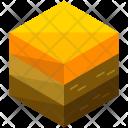Desert Terrain Isometric Icon