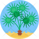 Desert Plant Green Icon
