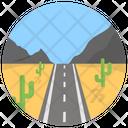 Desert Road Icon