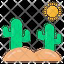 Desert Weather Icon